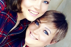 mutter-und-tochter-photoshooting-make-up-goldeline